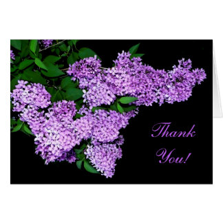 Lilac Thank You! Greeting Cards