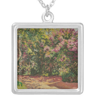 Lilac, the Artist's Garden Silver Plated Necklace