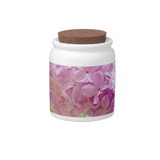 Lilac, the purple even number fragrance flower (it candy dish