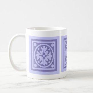 Lilac Tile mug
