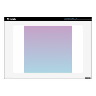 Lilac to Light Blue Horizontal Gradient Skins For Laptops