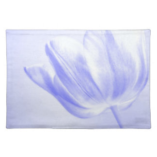 Lilac Tulip Live, Laugh, Love Cloth Placemat