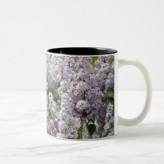 Lilac Two-Tone Coffee Mug