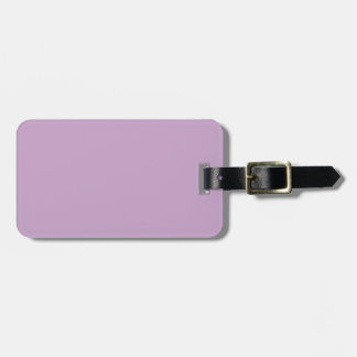 Lilac Violet Bag Tag
