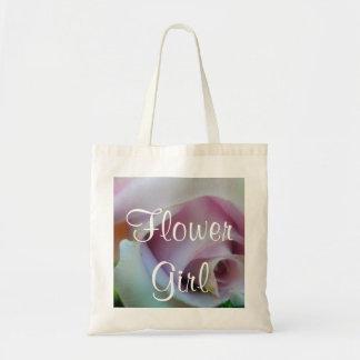 Lilac Wedding Rose Tote Bag