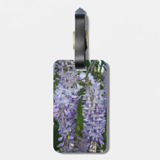 Lilac Wisteria Tag For Bags