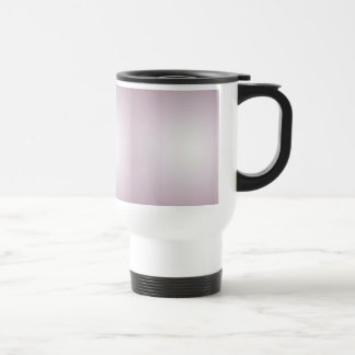Lilac with a patch of light travel mug