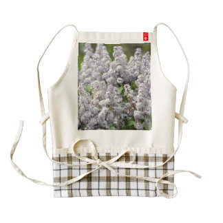 Lilac Zazzle HEART Apron