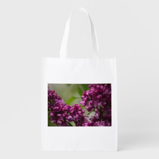 Lilac Reusable Grocery Bags