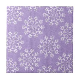 Lilac Zen Small Square Tile