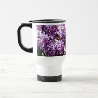 Lilacs 15 Oz Stainless Steel Travel Mug