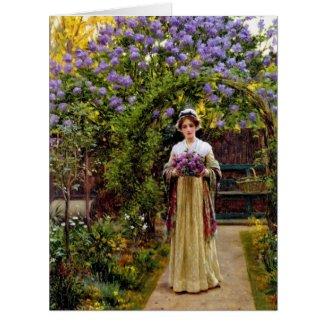 Lilacs 1901 card