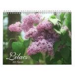 Lilacs 2013 (12 month) calendar