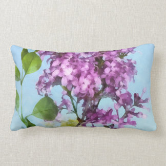 Lilacs Against the Sky Pillow