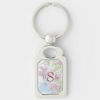 Lilacs and Clouds Wedding Products Keychains