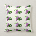 Lilacs and Leaves Pillows