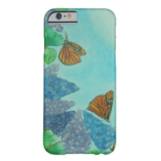 Lilacs and Monarchs Barely There iPhone 6 Case