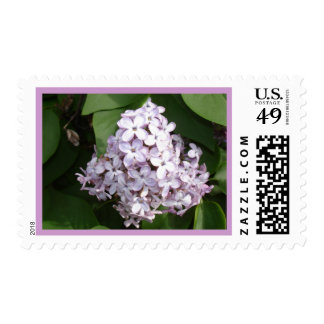 Lilacs  - April In California Postage Stamps