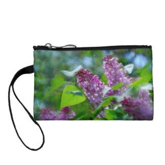 Lilacs Change Purse