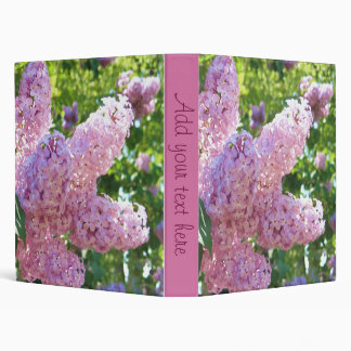 Lilacs Binder
