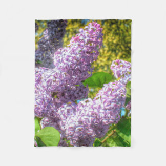 Lilacs blanket