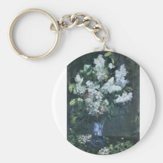 Lilacs by Lesser Ury Key Chains