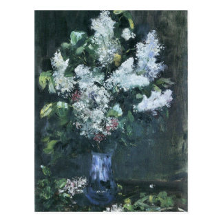 Lilacs by Lesser Ury Postcard