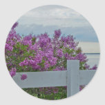 Lilacs by the Water Stickers