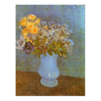 Lilacs, Daisies and Anemones by Vincent van Gogh Postcards