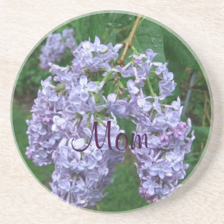 Lilacs for Mothers Day Coaster