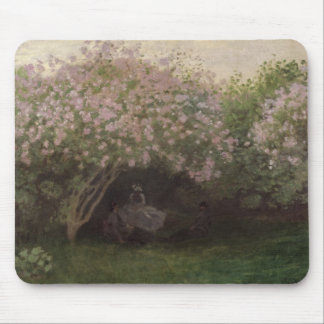 Lilacs, Grey Weather, 1872 Mouse Pad