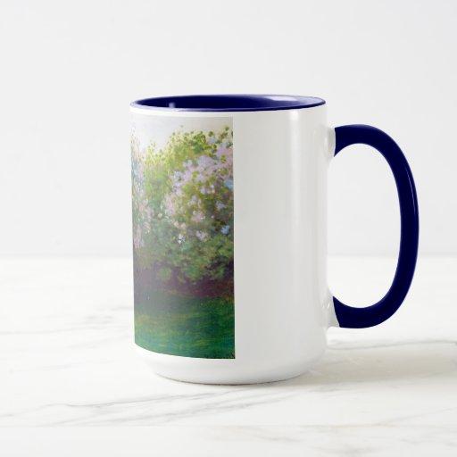 Lilacs, Grey Weather Claude Monet Mug
