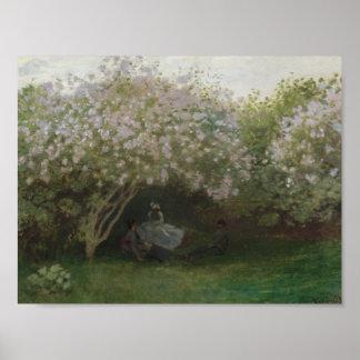 Lilacs, Grey Weather - Claude Monet Posters