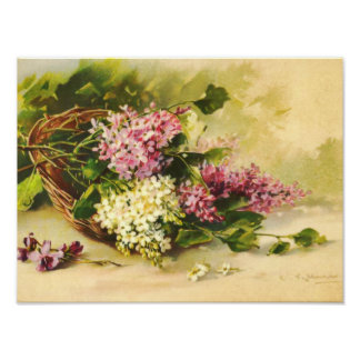 Lilacs in a Basket by Catherine Klein Print
