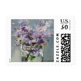 Lilacs in a Glass Fine Art Postage