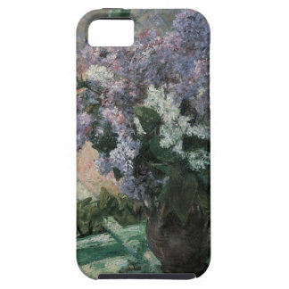Lilacs in a Window Cassatt Vintage Impressionism iPhone 5 Cases