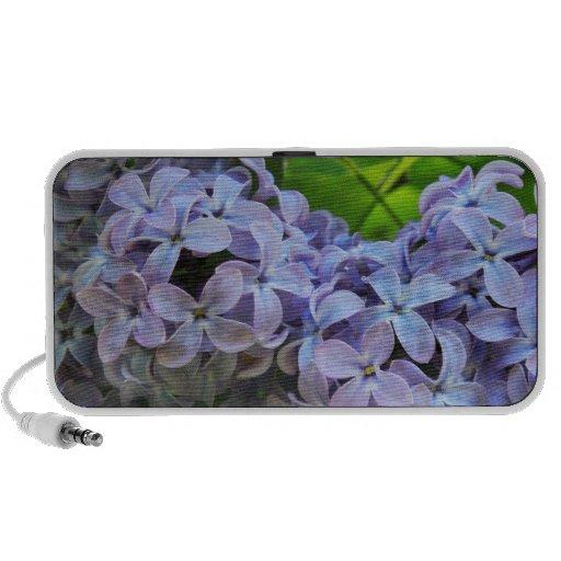 Lilacs in Full bloom iPhone Speakers
