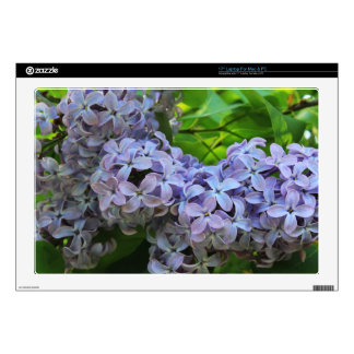 Lilacs in Full bloom Laptop Skins