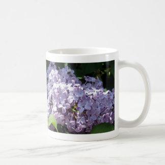 Lilacs in Full Bloom Classic White Coffee Mug