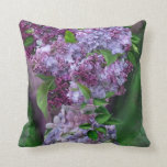 Lilacs In Lilac Vase Art Decorator Pillow