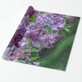 Lilacs In Lilac Vase Art Gift Wrap
