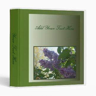 Lilacs In Springtime Binder