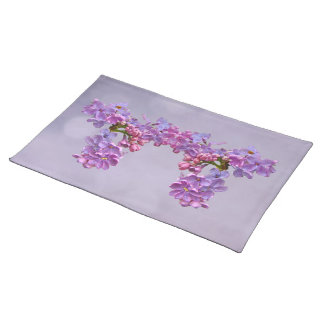 Lilacs in Springtime Cloth Placemat
