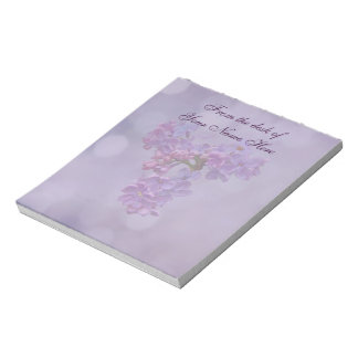 Lilacs in Springtime Note Pad