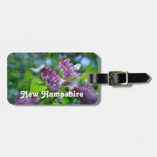 Lilacs Travel Bag Tags
