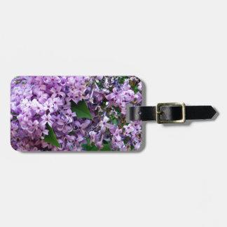 Lilacs Travel Bag Tag