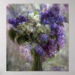 Lilacs Of Love Art Poster/Print