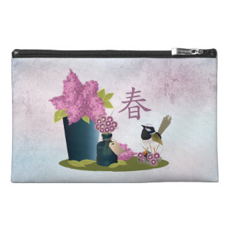 """Lilacs perfume and a bird """"Spring"""" Travel Accessories Bag"""