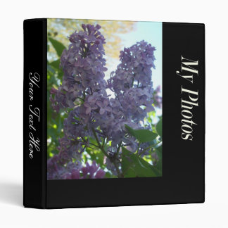 Lilacs Photo Binder w/ your text