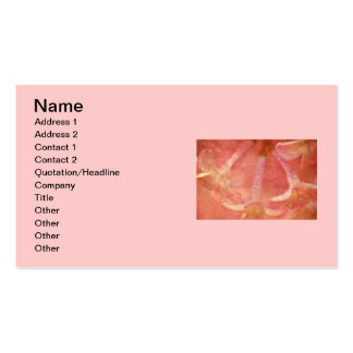 Lilacs Photo with Hearts Design Double-Sided Standard Business Cards (Pack Of 100)